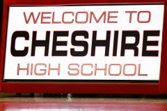 CIAC Boys Basketball; Focused on Cheshire vs. Foran - Photo # 000