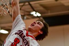 CIAC Boys Basketball; Focused on Cheshire vs. Foran - Photo # 005