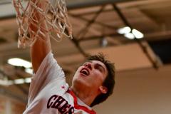 CIAC Boys Basketball; Focused on Cheshire vs. Foran - Photo # 006