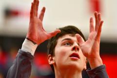 CIAC Boys Basketball; Focused on Cheshire vs. Foran - Photo # 019