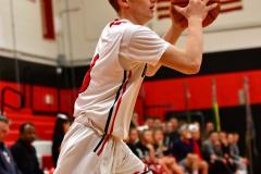 CIAC Boys Basketball; Focused on Cheshire vs. Foran - Photo # 068