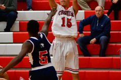 CIAC Boys Basketball; Focused on Cheshire vs. Foran - Photo # 074