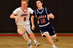 CIAC Boys Basketball; Focused on Cheshire vs. Foran - Photo # 075