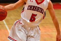 CIAC Boys Basketball; Focused on Cheshire vs. Foran - Photo # 085
