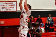 CIAC Boys Basketball; Focused on Cheshire vs. Foran - Photo # 100