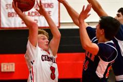 CIAC Boys Basketball; Focused on Cheshire vs. Foran - Photo # 110