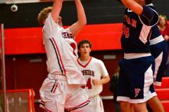 CIAC Boys Basketball; Focused on Cheshire vs. Foran - Photo # 111