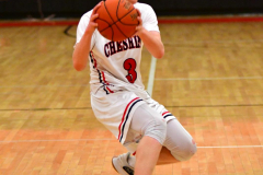 CIAC Boys Basketball; Focused on Cheshire vs. Foran - Photo # 124