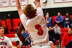 CIAC Boys Basketball; Focused on Cheshire vs. Foran - Photo # 139