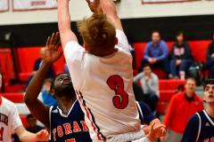 CIAC Boys Basketball; Focused on Cheshire vs. Foran - Photo # 140
