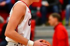 CIAC Boys Basketball; Focused on Cheshire vs. Foran - Photo # 144