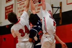 CIAC Boys Basketball; Focused on Cheshire vs. Foran - Photo # 157
