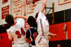 CIAC Boys Basketball; Focused on Cheshire vs. Foran - Photo # 158