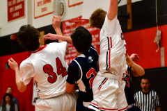 CIAC Boys Basketball; Focused on Cheshire vs. Foran - Photo # 159