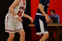 CIAC Boys Basketball; Focused on Cheshire vs. Foran - Photo # 162