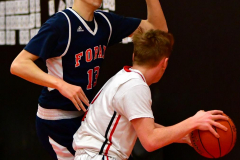 CIAC Boys Basketball; Focused on Cheshire vs. Foran - Photo # 163