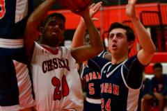 CIAC Boys Basketball; Focused on Cheshire vs. Foran - Photo # 167