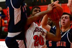 CIAC Boys Basketball; Focused on Cheshire vs. Foran - Photo # 168