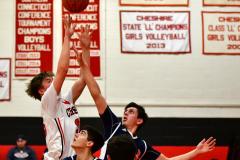 CIAC Boys Basketball; Focused on Cheshire vs. Foran - Photo # 178