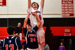 CIAC Boys Basketball; Focused on Cheshire vs. Foran - Photo # 179