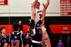 CIAC Boys Basketball; Focused on Cheshire vs. Foran - Photo # 180