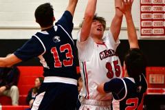 CIAC Boys Basketball; Focused on Cheshire vs. Foran - Photo # 182