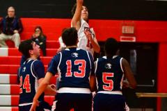 CIAC Boys Basketball; Focused on Cheshire vs. Foran - Photo # 187
