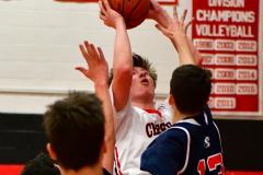 CIAC Boys Basketball; Focused on Cheshire vs. Foran - Photo # 190