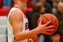 CIAC Boys Basketball; Focused on Cheshire vs. Foran - Photo # 194