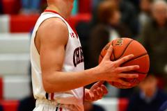 CIAC Boys Basketball; Focused on Cheshire vs. Foran - Photo # 195