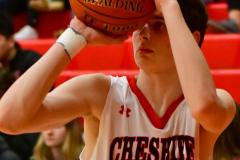 CIAC Boys Basketball; Focused on Cheshire vs. Foran - Photo # 213