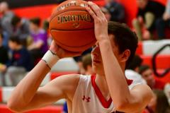 CIAC Boys Basketball; Focused on Cheshire vs. Foran - Photo # 220