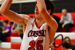 CIAC Boys Basketball; Focused on Cheshire vs. Foran - Photo # 222