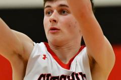 CIAC Boys Basketball; Focused on Cheshire vs. Foran - Photo # 240