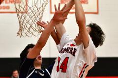 CIAC Boys Basketball; Focused on Cheshire vs. Foran - Photo # 247