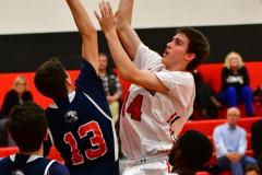 CIAC Boys Basketball; Focused on Cheshire vs. Foran - Photo # 250