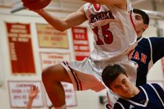 CIAC Boys Basketball; Focused on Cheshire vs. Foran - Photo # 263