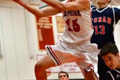 CIAC Boys Basketball; Focused on Cheshire vs. Foran - Photo # 264