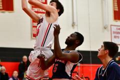CIAC Boys Basketball; Focused on Cheshire vs. Foran - Photo # 276