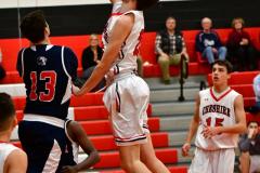 CIAC Boys Basketball; Focused on Cheshire vs. Foran - Photo # 288