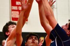 CIAC Boys Basketball; Focused on Cheshire vs. Foran - Photo # 294