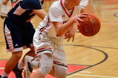 CIAC Boys Basketball; Focused on Cheshire vs. Foran - Photo # 295
