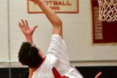 CIAC Boys Basketball; Focused on Cheshire vs. Foran - Photo # 298