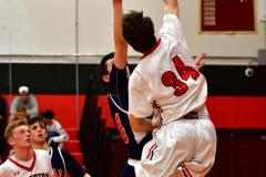 CIAC Boys Basketball; Focused on Cheshire vs. Foran - Photo # 299