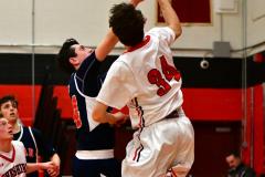 CIAC Boys Basketball; Focused on Cheshire vs. Foran - Photo # 300