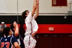 CIAC Boys Basketball; Focused on Cheshire vs. Foran - Photo # 302