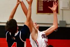 CIAC Boys Basketball; Focused on Cheshire vs. Foran - Photo # 303