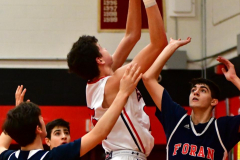 CIAC Boys Basketball; Focused on Cheshire vs. Foran - Photo # 306