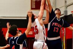 CIAC Boys Basketball; Focused on Cheshire vs. Foran - Photo # 308