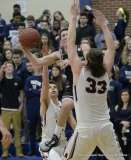 Gallery CIAC Boys Basketball; - Focused on Farmington 46 at Avon 45 - Photo # (119)